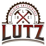 Lutz Building Enterprises logo design by Jay Gervais