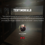 Testimonials on Lutz Building website