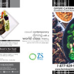 Boulevard Restaurant off-site catering brochure design by Jay Gervais