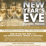 New Year's Eve event advertisement made by Jay Gervais for Boulevard Restaurant