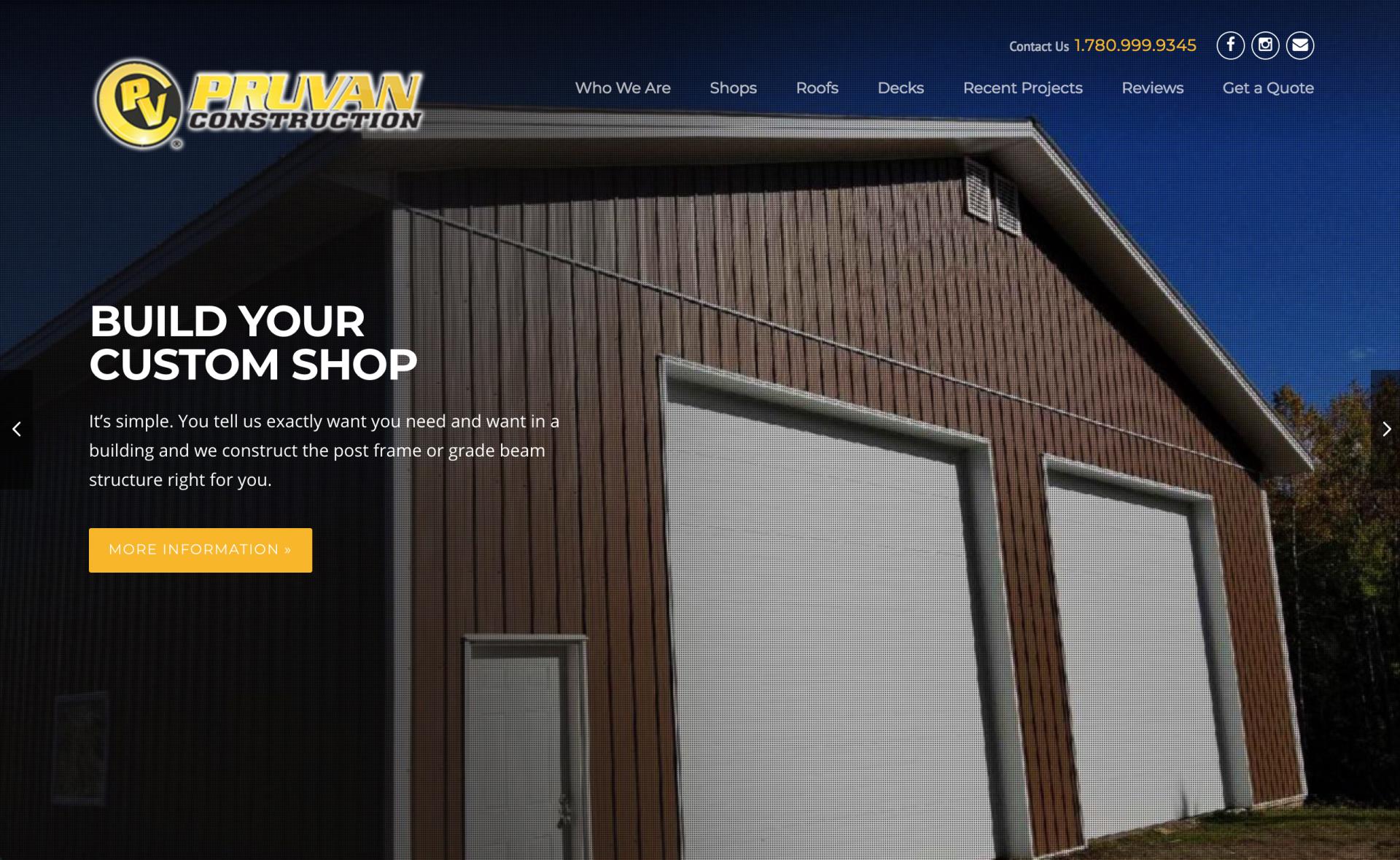 Pruvan Construction Home Page Slider
