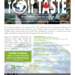 Taste event schedule for Boulevard created by Jay Gervais