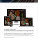 Web design page on Black Cat Creative website