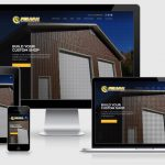 Pruvan Construction website viewed on multiple devices